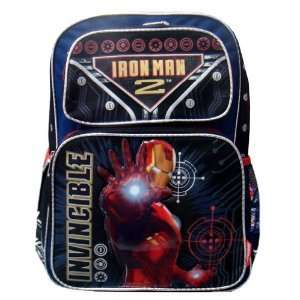Backpack MARVEL NEW Iron Man 2 Hero Movie School Bag