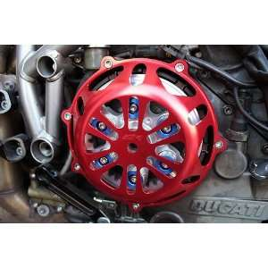 Ducati RED Engine Clutch Cover Hypermotard Sport 1000 S