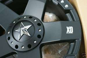 18 Black KMC XD Series Rockstar Rockstars Wheels Rims