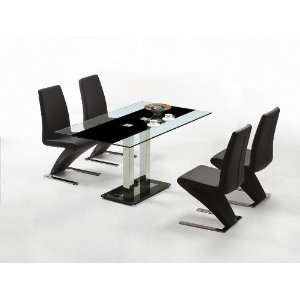 Ultra Modern Glass Top Kitchen Table