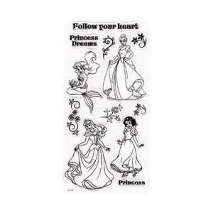 Disney Princesses Clear Stamps Arts, Crafts & Sewing