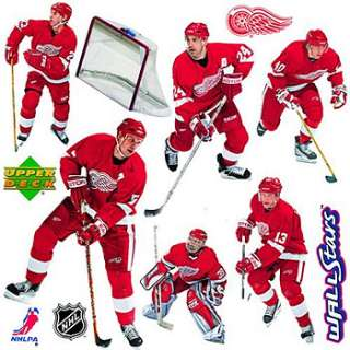 NHL DETROIT REDWINGS Car WALL DECAL STICKERS Ice HOCKEY