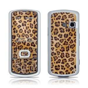 Leopard Spots Design Protector Skin Decal Sticker for LG Banter AX265