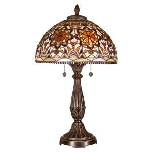 Dale Tiffany Lifestyles Series Art Glass Table Lamp