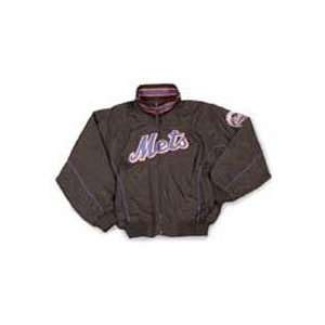 York Mets Closeout Youth Dugout Jacket by Majestic