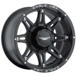 Eagle Alloys Series 027 Black Wheel with Painted Finish (20x9/8x180mm