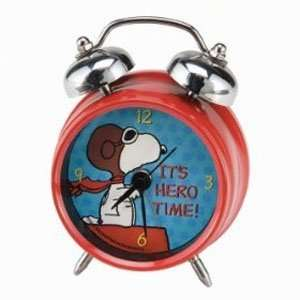Peanuts Flying Ace Large Alarm Clock