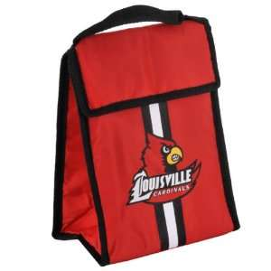 Louisville Cardinals Hook and Loop Fastened Lunch Bag