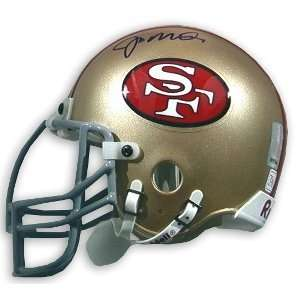 Joe Montana Signed 49ers Mini Helmet