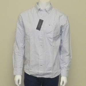 NWT TOMMY HILFIGER DRESS SHIRT LONG SLEEVE CASUAL TOMMY SHIRT BUTTON
