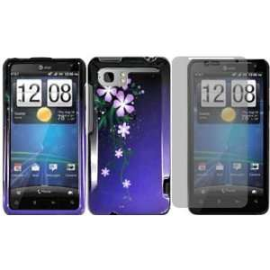 Nightly Flower Hard Case Cover+LCD Screen Protector for