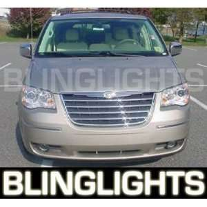 1996 2010 Chrysler Town & Country Blue Halo Fog Lights
