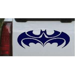 Navy 46in X 17.6in    Tribal Batman Car Window Wall Laptop