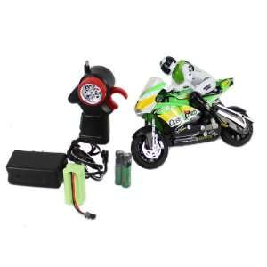 122 Scale Full Function Motor Tracer RC Motorcycle with