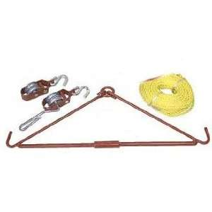 Allen Company Heavy Duty Folding Version Gambrel and Hoist Kit (440