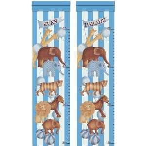 Mod Animal Parade Brilliant Blue Growth Chart
