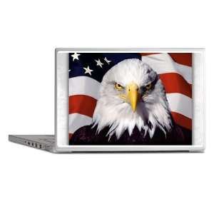 Laptop Notebook 14 Skin Cover Eagle on American Flag