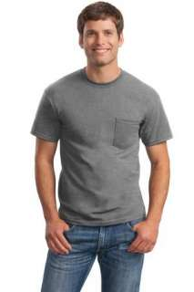 Gildan Ultra Cotton 100% Cotton T Shirt w/Pocket. 2300