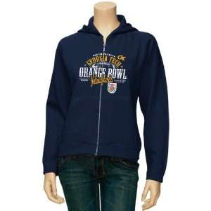 NCAA Georgia Tech Yellow Jackets Ladies Navy Blue 2010 Orange Bowl