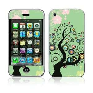 Apple iPhone 2G Vinyl Decal Sticker Skin   Girly Tree