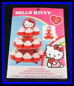 NEW Wilton ***HELLO KITTY*** Cupcake Stand