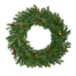 36 Redwood Pine With Cones Artificial Christmas Wreath