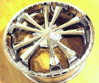 20x8.5 inch Greed Drama Chrome Wheel Rim