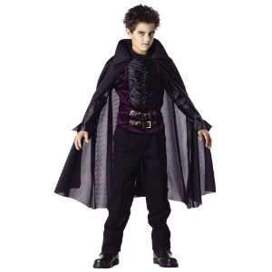 Childs Gothic Vampire Halloween Costume (Size Small 6 8