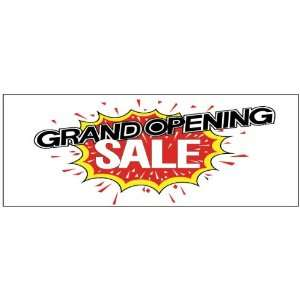 Grand Opening Sale Explosion Business Banner Office