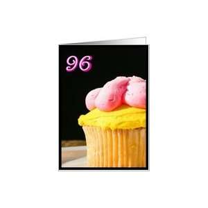 Happy 96th Birthday Muffin Card Toys & Games
