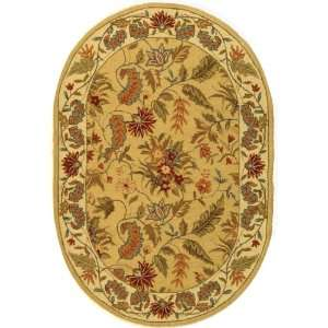 Safavieh Chelsea Collection HK141A Hand Hooked Wool Oval Area Rug, 7
