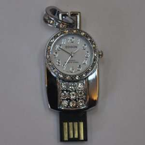 Watch Jewelry USB Flash Driver with 4gb Capacity