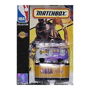 Los Angeles Lakers Dodge Viper 1998 Diecast Matchbox NBA