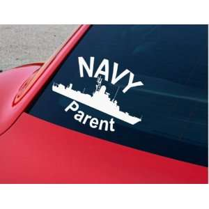 Car Decal Made of High Quality Vinyl Navy Parent Decal 10
