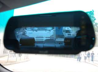 Car SUV Parking Reverse Rear View Camera 7 Mirror LCD AV in prk838