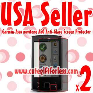 Anti Glare & Anti Fingerprint Screen Protector for Garmin Asus