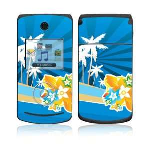 LG Chocolate 3 (VX8560) Skin Decal Sticker   Tropical Station