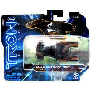 Tron Legacy Vehicle 1/50 Die Cast Clus Command Ship