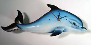 New Indoor   Outdoor Tropical Dolphin Clock