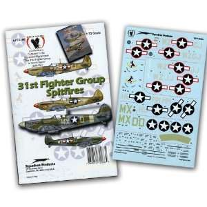 31st Fighter Group American Spitfires (1/72 decals) Toys