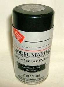 testors MM GERMAN SILVER MET ENAMEL 3oz SPRAY PAINT