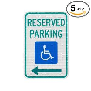 Elderlee, Inc. 9212.78005 Handicapped Parking Sign, Reserved Parking