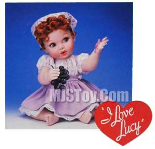 NIB I Love Lucy Premier Vinyl Baby Doll Collection