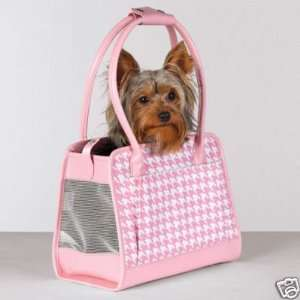 Zack & Zoey Fashion Hound Dog Pet Carrier LARGE PINK