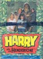 HARRY AND THE HENDERSONS 1987 TOPPS TRADING CARD BOX