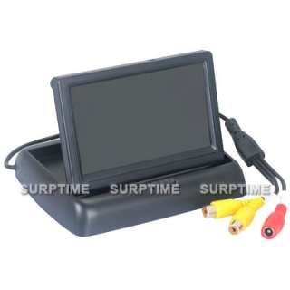 Inch TFT LCD Car Rear View reverse Color Camera Monitor 2CH Video