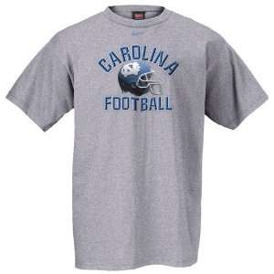 Nike North Carolina Tar Heels (UNC) Grey Football Helmet T