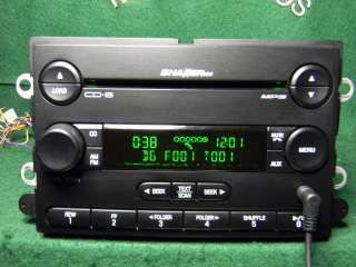 07 Ford Mustang Shaker 500  CD Radio 6 CD changer Ipod AUX Sat Line