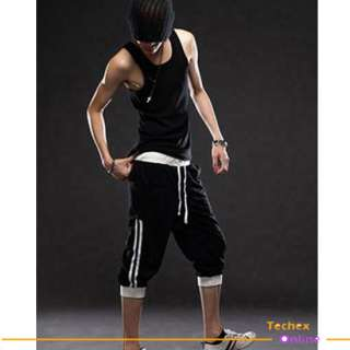 NWT Mens casual sporty capri pants shorts X XXL Hiphop