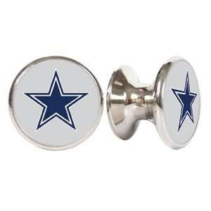 Dallas Cowboys NFL Stainless Steel Cabinet Knobs / Drawer